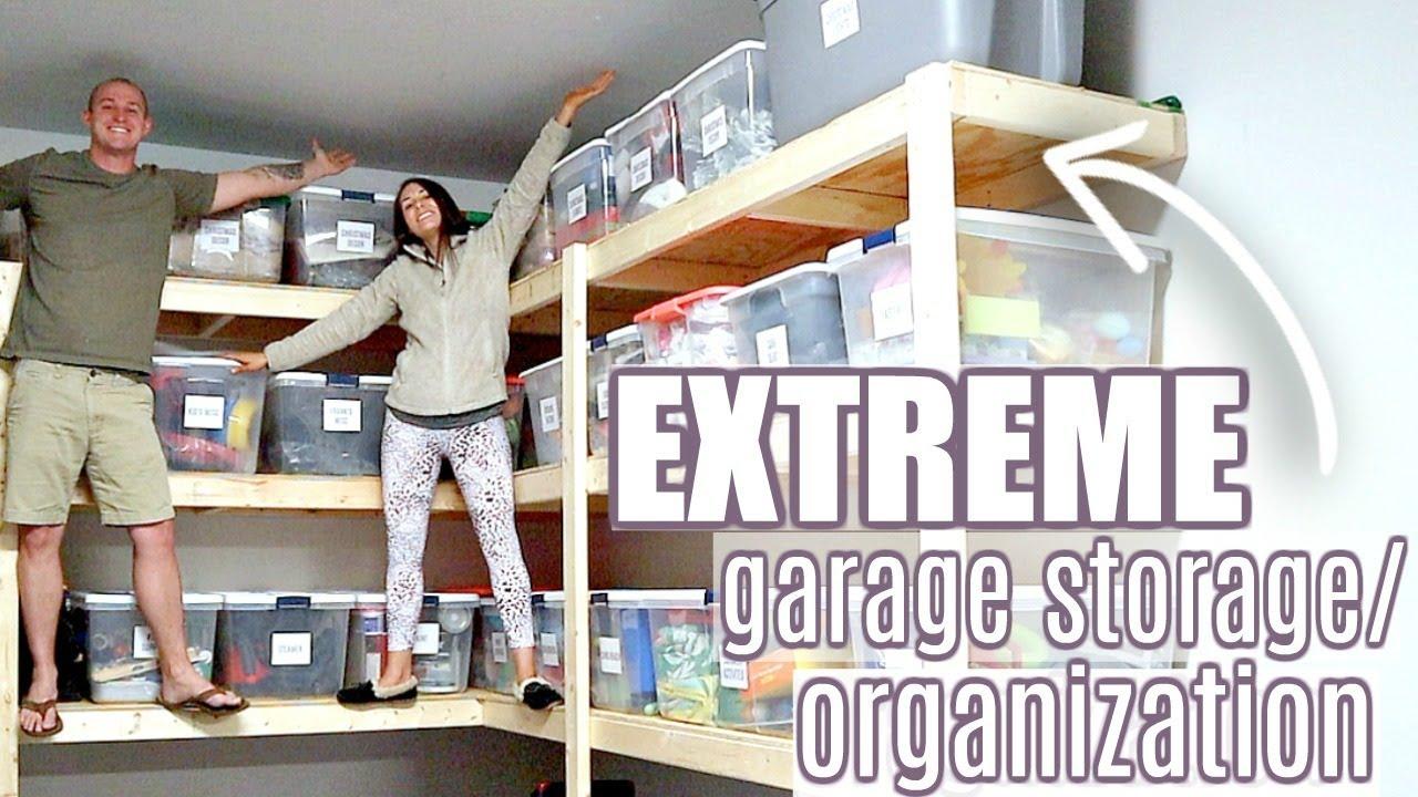 Organize Garage Shelves
