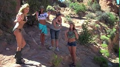 Behind Scenes Moab Glamour Photo Workshop