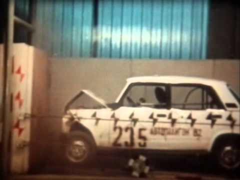 Краштест ВАЗ-2105 1982г.