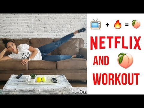 Booty burning workout for your Netflix and chill