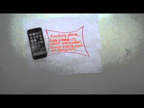 Impact of Cell Phones Paper Slide Video