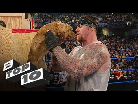 Superstars receiving gifts: WWE Top 10