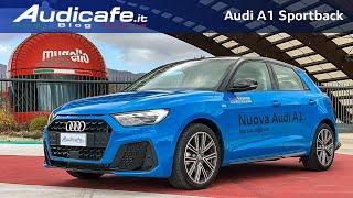 "Nuova Audi A1 Sportback 2019 |  ""Piccola Grande"" - Test Drive"