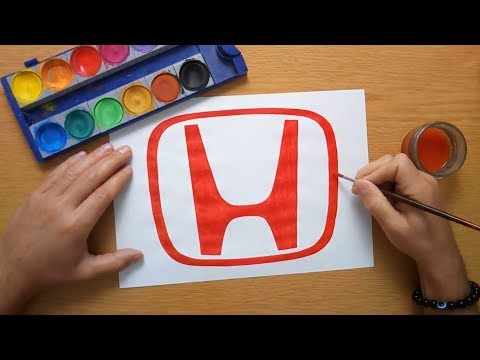 How To Draw A Honda Logo