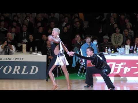 4K 2017 WDSF World Open Latin in Tokyo | Marthe Brinch Rhode - Sandra Sorensen, DEN | Final SAMBA