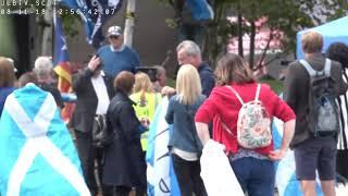 PROTEST against BBC's anti-Scotland bias - Pacific Quay Glasgow - 11 Aug 2018 - LIVE & uncensored