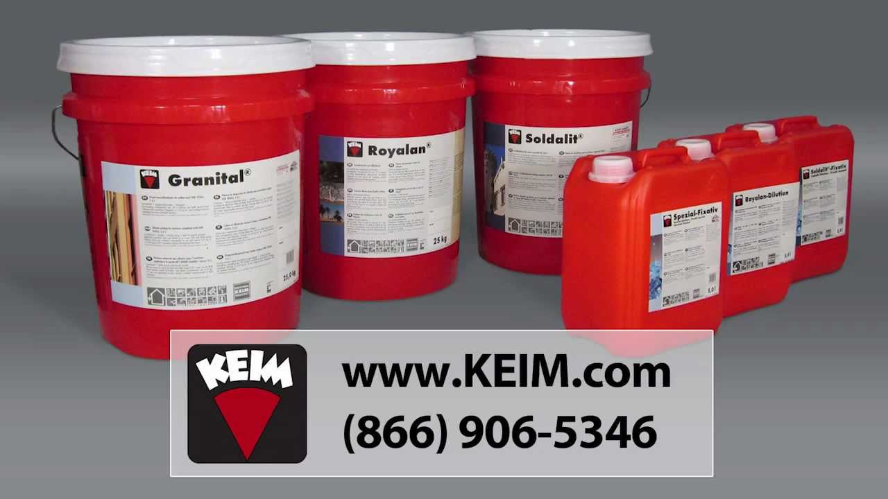 How to apply KEIM Silicate Mineral Paint