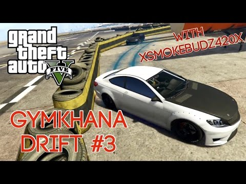 GTA5 airport gymkhana drift #3 With xSmokeBudz420x  - rockstar editor - Xbox one