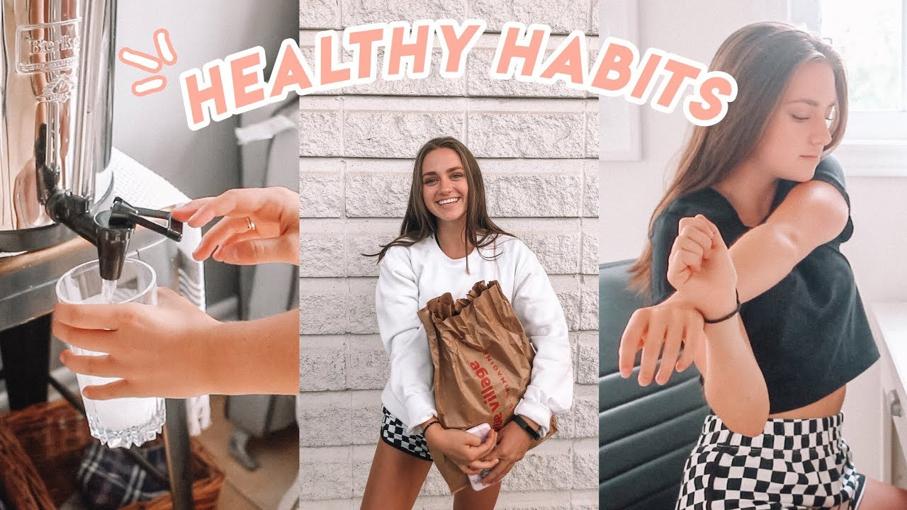 Healthy Habits To Do Everyday! (for a better you)