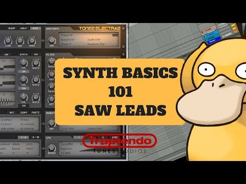 Synth Basics | How To Make Saw Leads | Electra X