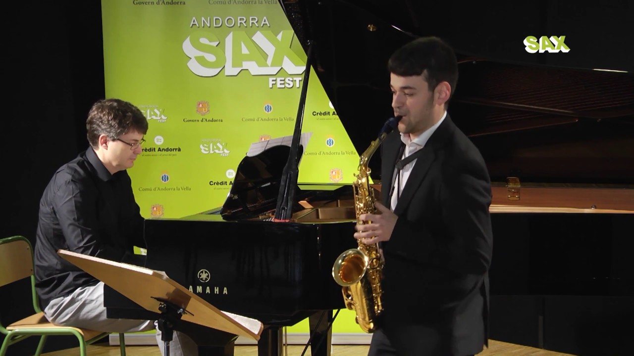 RAFAEL CACHO PLAZA - 1st ROUND - V ANDORRA INTERNATIONAL SAXOPHONE COMPETITION 2018