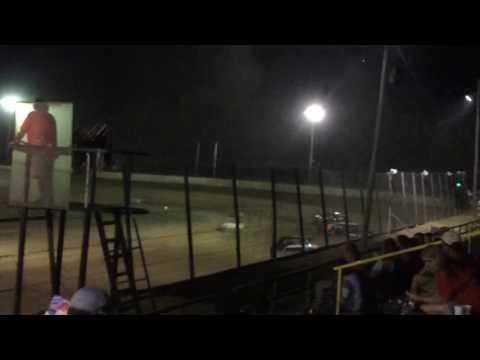 Jackson Motor Speedway NESMITH Street Stock Heat Race 09/03/16