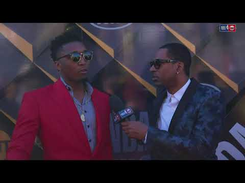 Donovan Mitchell   NBA Awards Show Red Carpet Interview