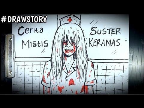Download Asal Usul Hantu Suster Keramas || DRAWSTORY #60