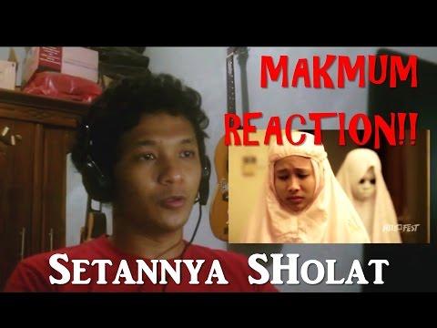 'MAKMUM' - Indonesian Short Horor Film REACTION!! (Setannya sholat!)