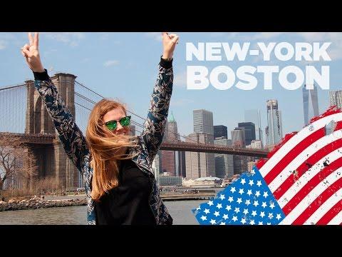 American family trip - New-York & Boston - Avril 2017
