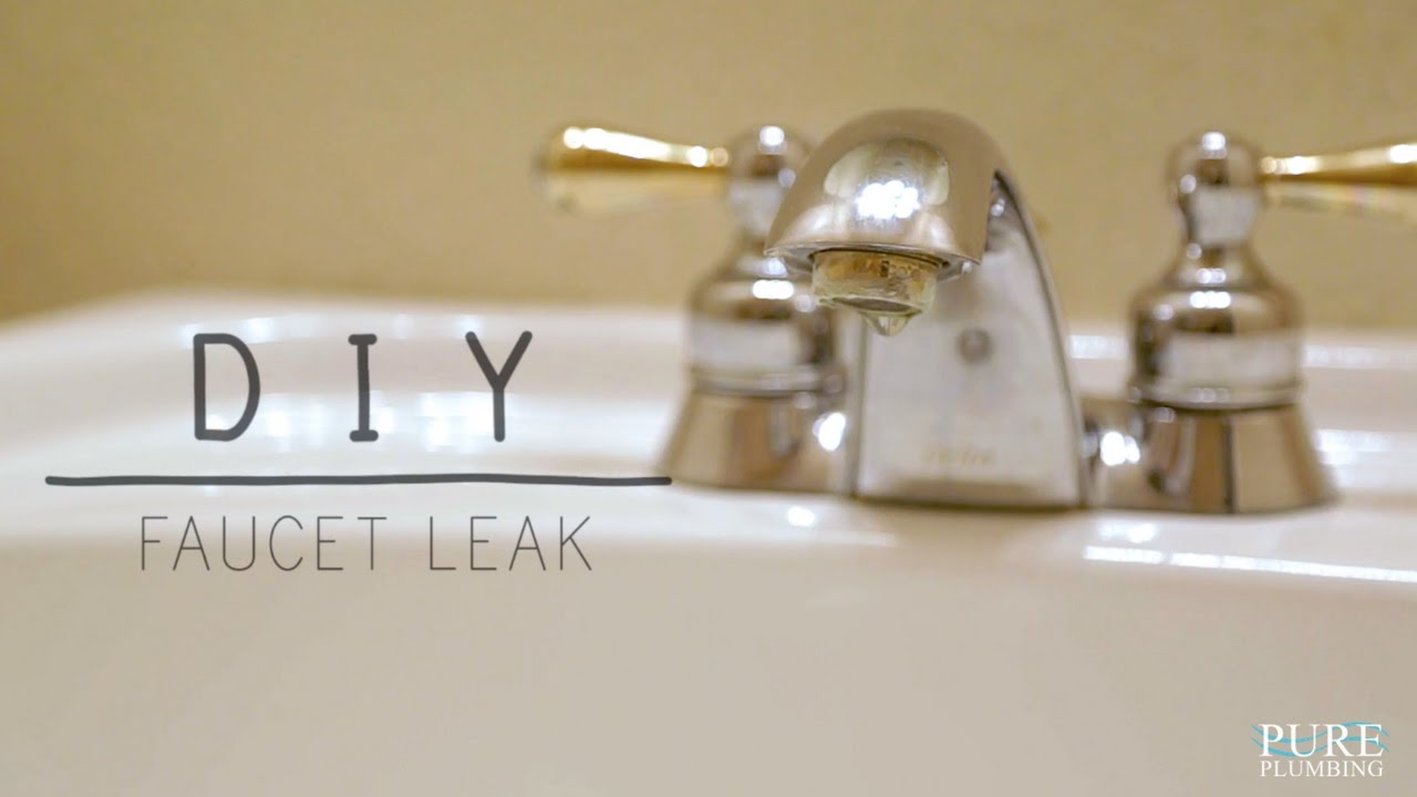 Fix A Leaky Faucet Double Handle Diy