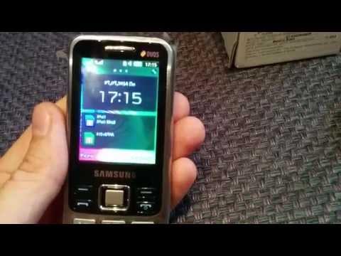 Полный обзор звонилки Samsung GT-C3322i