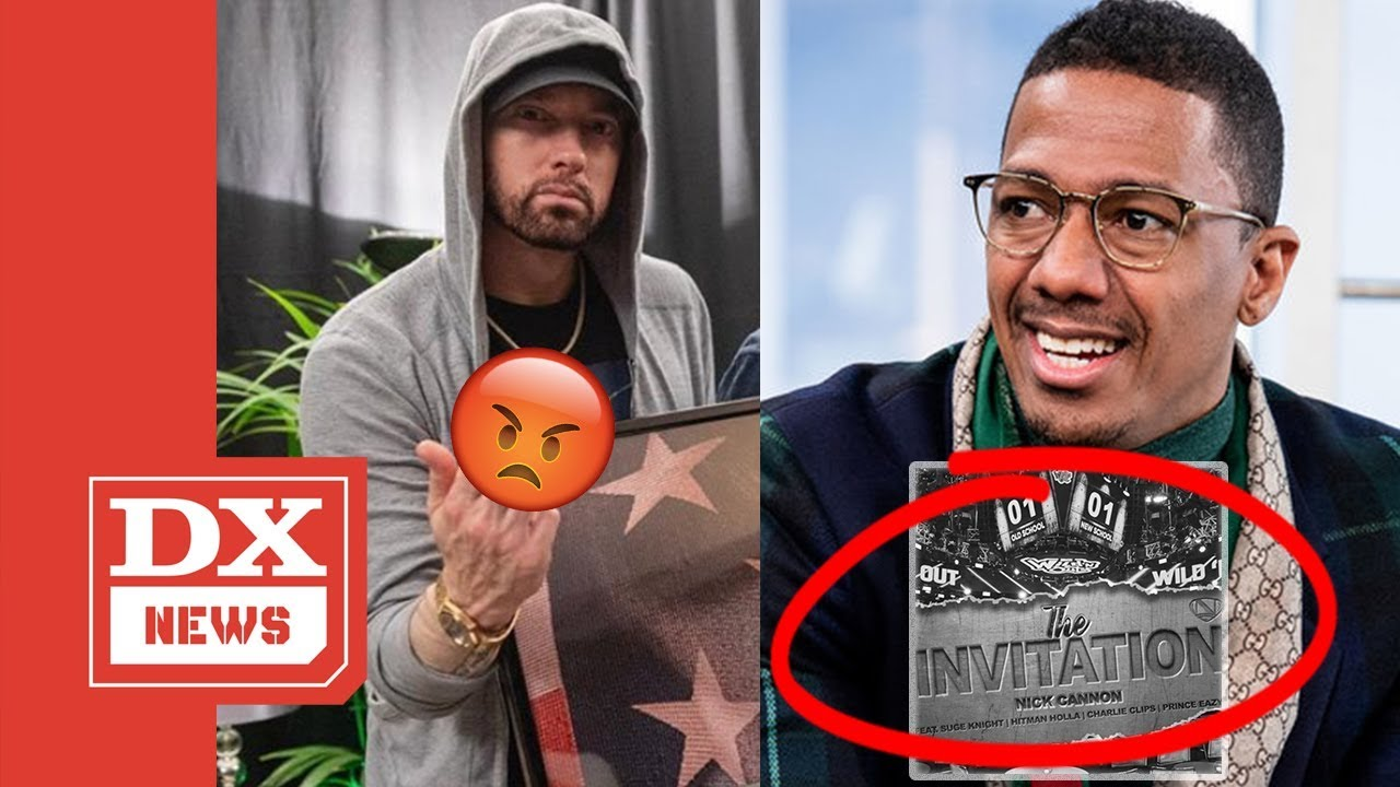 Nick Cannon Drops Eminem Diss Track The Invitation Mentions