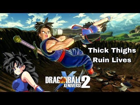 Myra DESTROYS Her Opponents With Thighs MIGHTIER Than Jiren's! | Dragon Ball Xenoverse 2