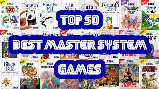 Top 50 Best Sega Master System Games