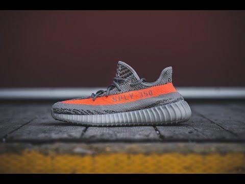 "Review & On-Feet: Adidas Yeezy Boost 350 V2 ""Beluga"""