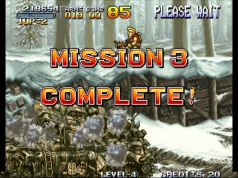 Playthrough Metal Slug 1: Mission All Over!