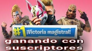 #Fortnite jugando con suscriptores  | Sesión 2.0 |long play | Español