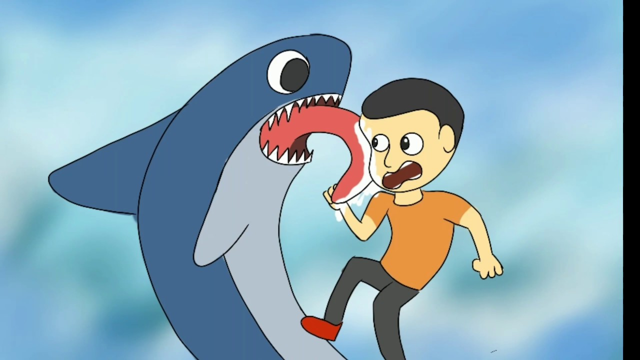 ManEater hiu pemakan manusia - MH - Animasi 13