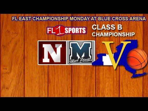 2017 Section V Class B Championship - Mynderse vs. Newark (video replay) .::. FL1 Sports 3/6/17