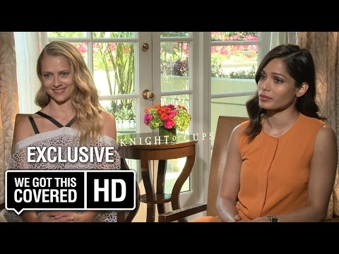 Exclusive Interview: Freida Pinto and Teresa Palmer Talk Knight Of Cups [HD]