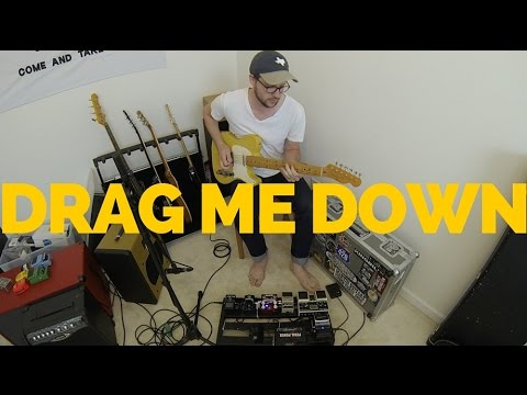 One Direction   Drag Me Down   Electric Guitar Loop Cover   H. Read Davis