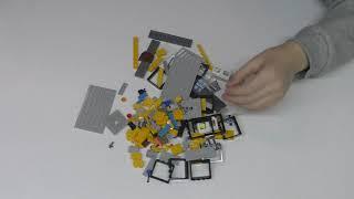 Сборка Конструктора LEGO Hidden Side Автобус охотников за паранормальными явлениями