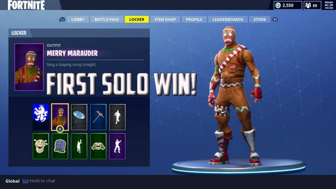 how to get gingerbread man skin fortnite