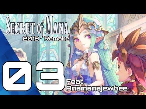 SECRET OF MANA Playthrough 03! Remake PS4 Pro 2018