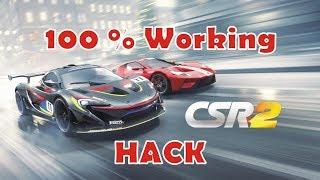CSR Racing 2 100% Working Hack Apk Mod