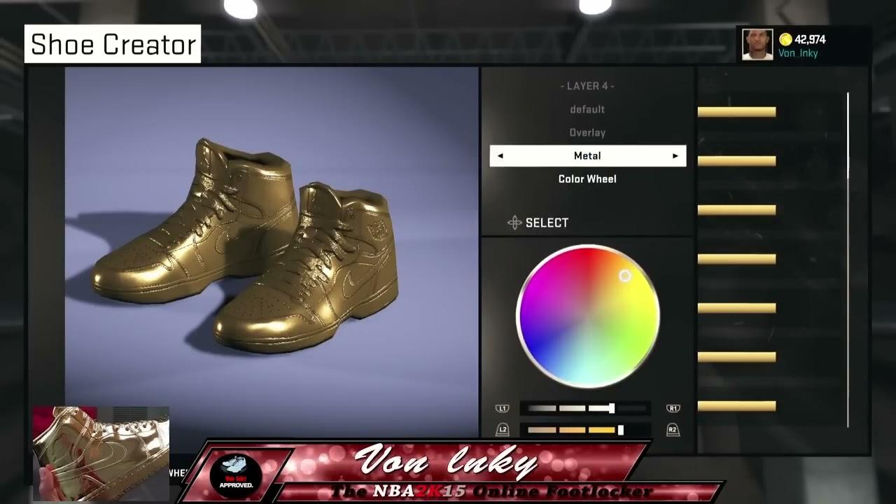 golden jordan shoes