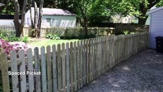 Wood Fence Slide Show