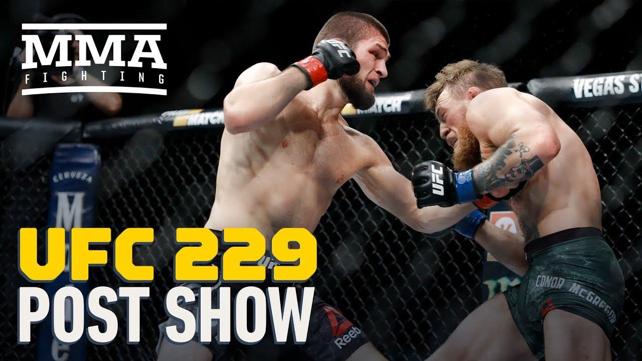 UFC 229: Khabib vs  McGregor Post-Fight Show - MMA Fighting