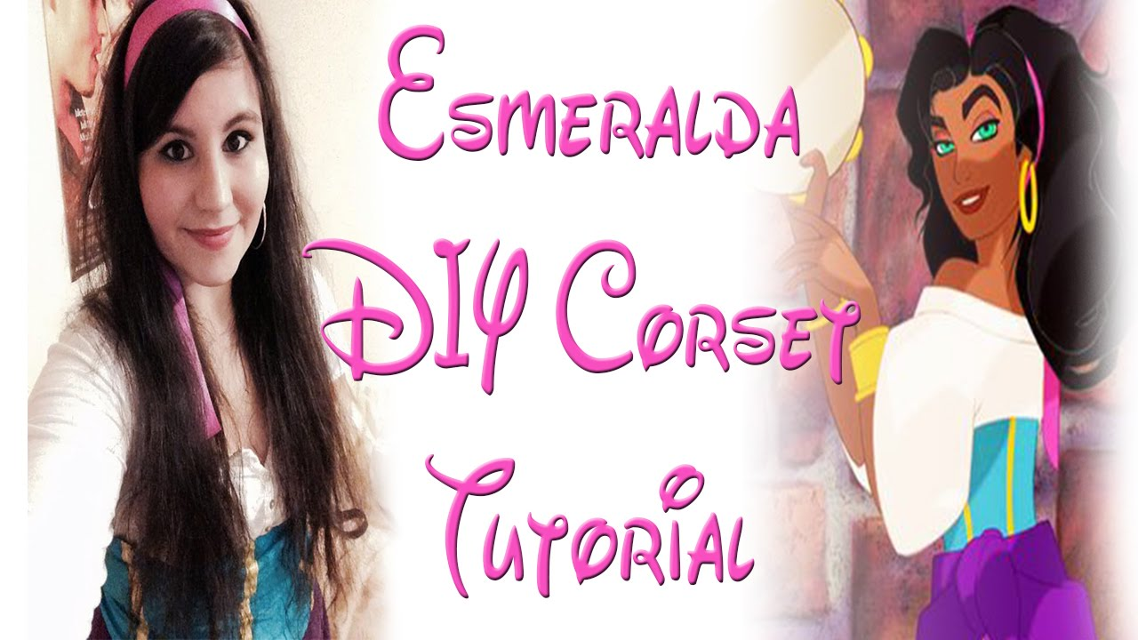 Esmeralda diy corset tutorial youtube esmeralda diy corset tutorial solutioingenieria Image collections