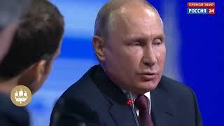 Макрон в ШОКЕ! Путин ОШАРАШИЛ французского президента