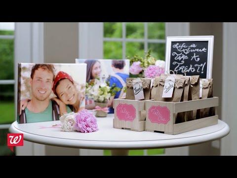 Diy Bridal Shower Ideas Walgreens