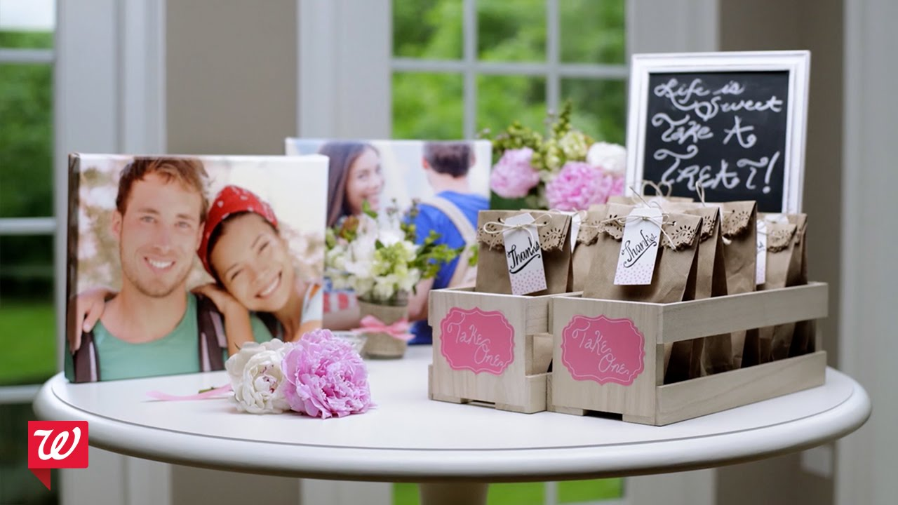 Diy Bridal Shower Ideas Walgreens Youtube