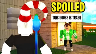 I Adopted A SPOILED KID And What He Was HIDING Will SHOCK YOU.. (Roblox)
