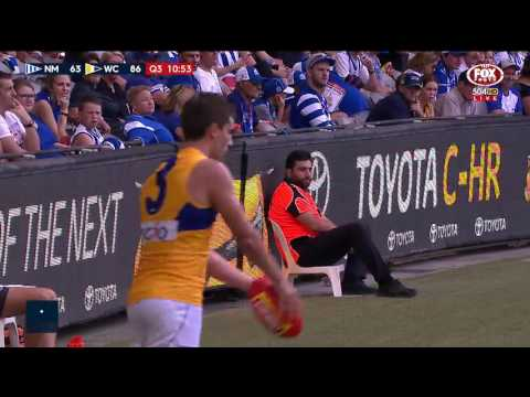Round 1 AFL - North Melbourne v West Coast Highlights