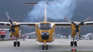 CC-115 DHC-5 Buffalo Engine Start-Up and Takeoff
