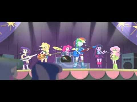 My Little Pony Equestria Girls 2  Rainbow Rocks HD Español Latino   2 Parte