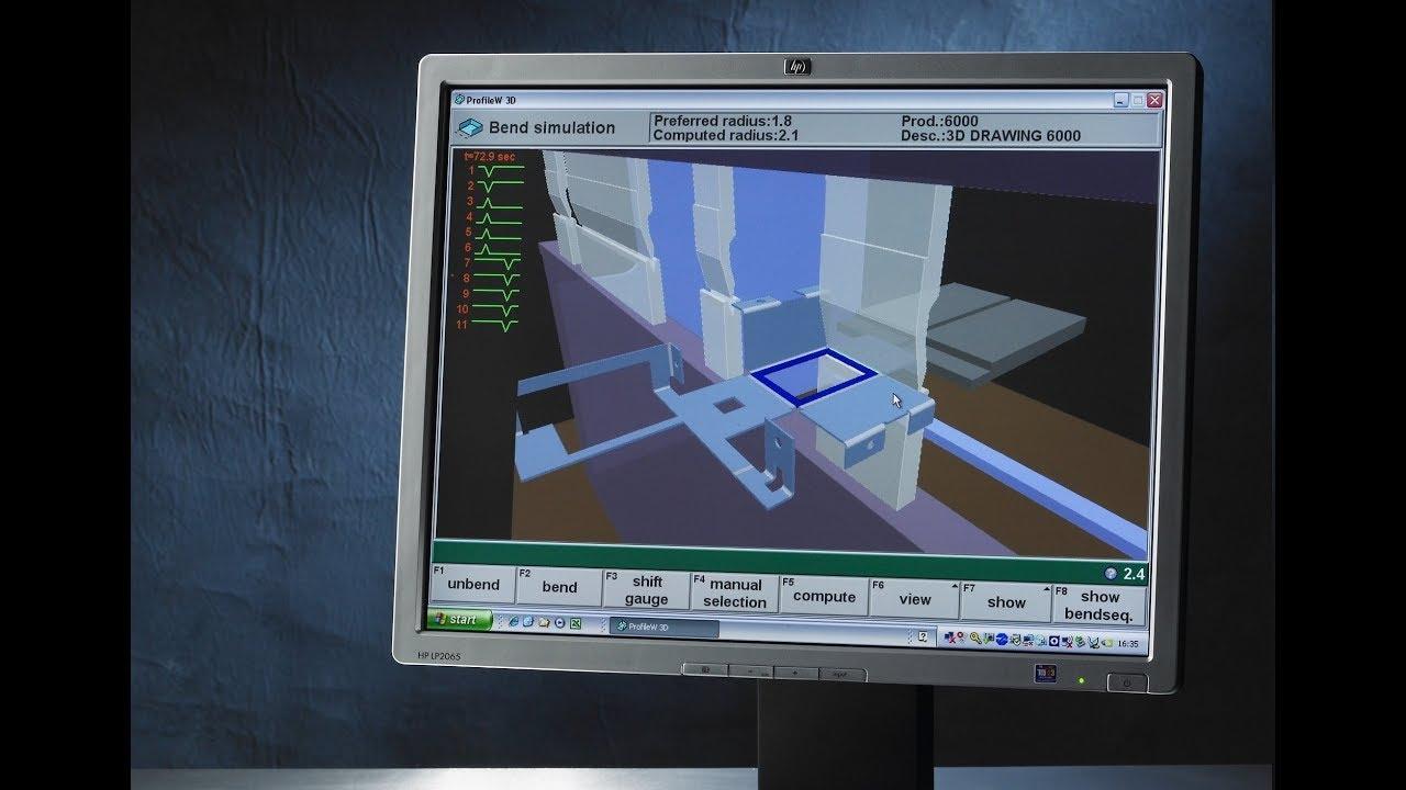 DELEM Profile-T Offline Software programming for Full 3D Simulation For  Sheet Metal Bending