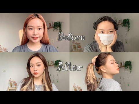 Tẩy và nhuộm tóc tại nhà và cái kết??? Part 2 | Nhuộm tóc Jennie BlackPink| NgocBunn
