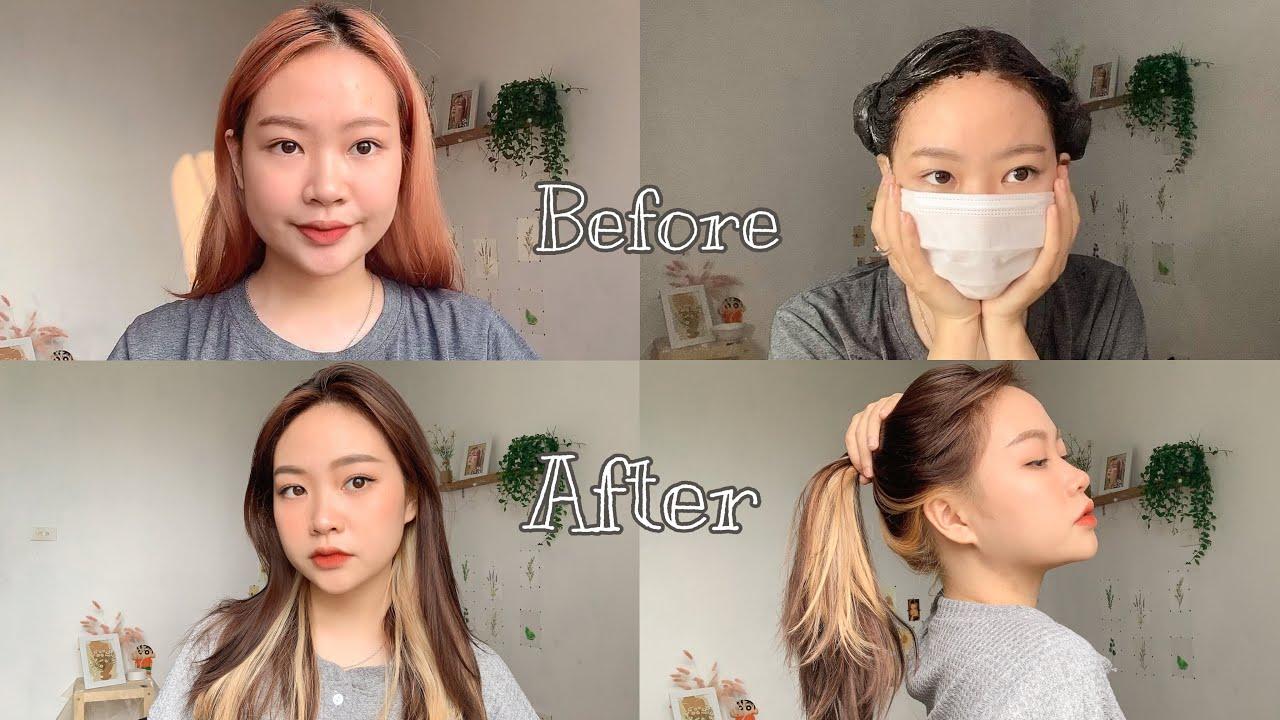 Tẩy và nhuộm tóc tại nhà và cái kết??? Part 2 | Nhuộm tóc Jennie BlackPink| NgocBunn | Tóm tắt những thông tin liên quan đến nhuộm hidden light mới cập nhật